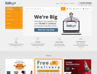 ballicom.co.uk screenshot