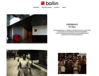 ballin-shoes.com screenshot