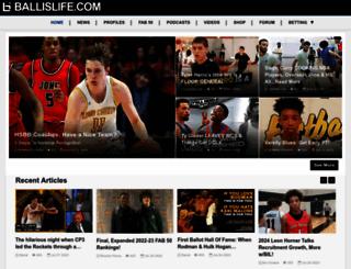 ballislife.com screenshot