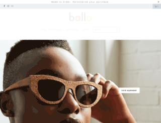 ballo.co.za screenshot
