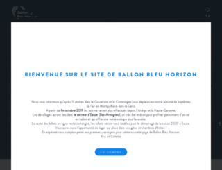 ballon-bleu-horizon.fr screenshot
