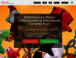 ballonkuenstler.de screenshot