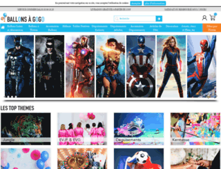 ballons-a-gogo.com screenshot