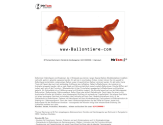 ballontiere.com screenshot