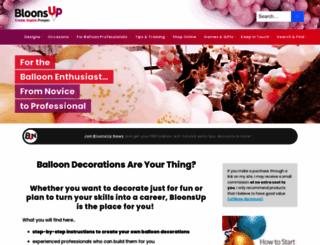 balloon-decoration-guide.com screenshot
