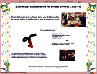 balloonatic.nl screenshot