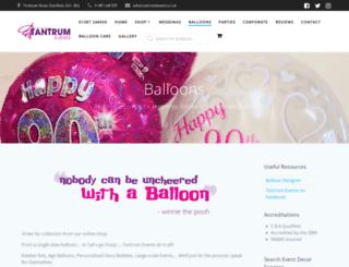 balloondesigner.co.uk screenshot