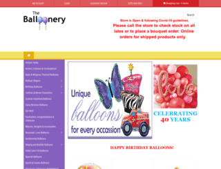 ballooneryinc.com screenshot