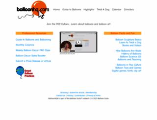 balloonhq.com screenshot