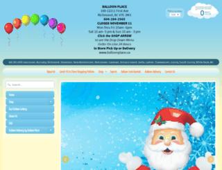 balloonplace.ca screenshot