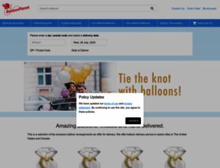 balloonplanet.com screenshot
