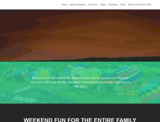 balloonsoverhsbresort.com screenshot