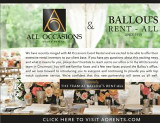 ballous.com screenshot