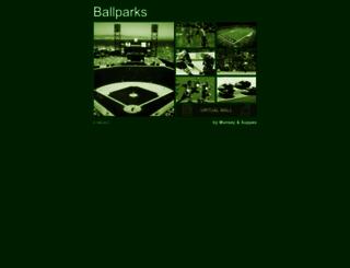 ballparks.com screenshot