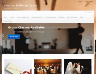 ballroomdanceatl.com screenshot