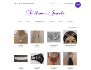 ballroomjewels.com screenshot