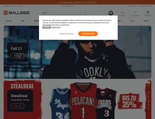 ballside.com screenshot
