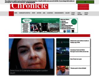 ballycastle.thechronicle.uk.com screenshot