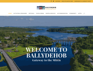ballydehob.ie screenshot