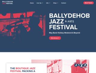 ballydehobjazzfestival.org screenshot