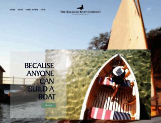 balmainboatcompany.com screenshot