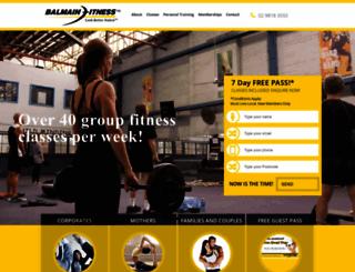 balmainfitness.com.au screenshot