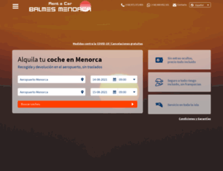 balmesmenorca.com screenshot
