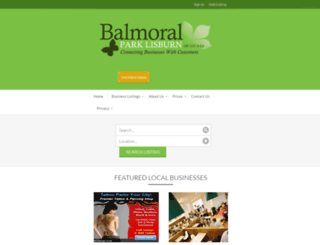 balmoralparklisburn.com screenshot