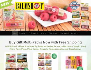 balmshot.com screenshot