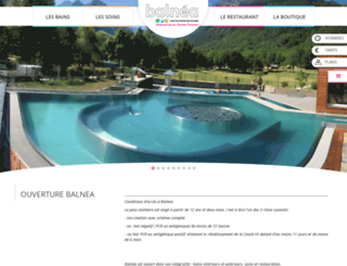 balnea.fr screenshot