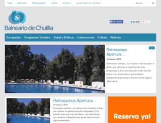 balneariodechulilla.com screenshot