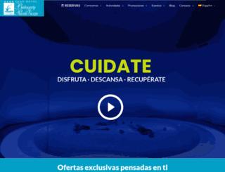 balneariodepuenteviesgo.com screenshot