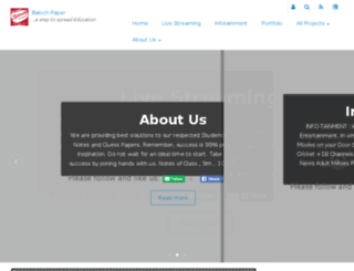 balochpaper.com screenshot