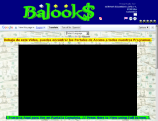balooks.com screenshot