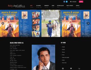balrajsidhu.com screenshot