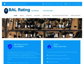 balrating.com.au screenshot