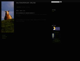 baltensperger.eu screenshot