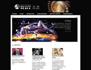 balticpearl.lv screenshot