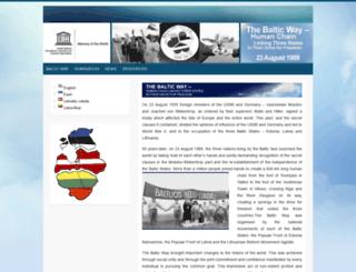 balticway.net screenshot
