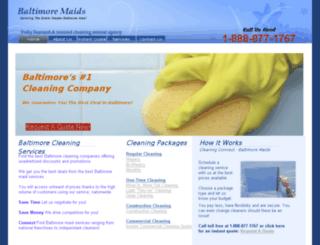 baltimore-maids.com screenshot