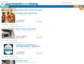 baltimore.apartmenthomeliving.com screenshot