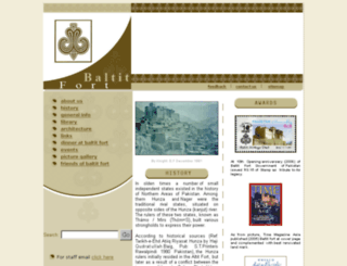 baltitfort.org screenshot