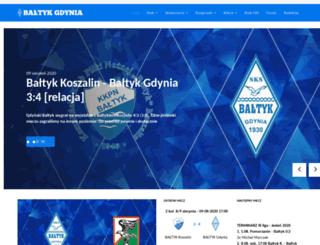 baltyk.gdynia.pl screenshot