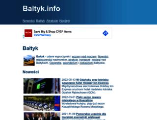 baltyk.info screenshot