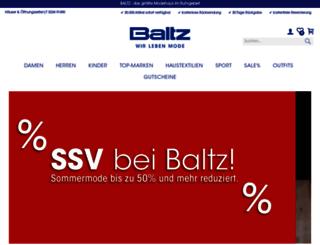 baltz.de screenshot
