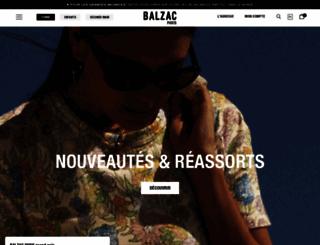 balzac-paris.fr screenshot