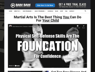 bambammartialarts.com screenshot