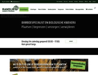 bamboe.nl screenshot