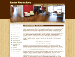 bamboo-flooring-facts.com screenshot