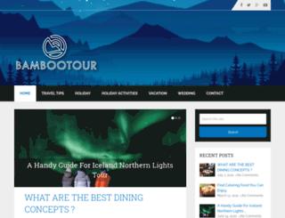bamboo-tour.com screenshot